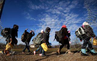 Η εμπλοκή του ΝΑΤΟ θα σταματήσει τις ανεξέλεγκτες ροές προσφύγων.