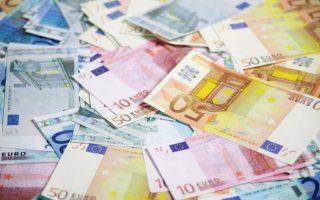 Pile of euros