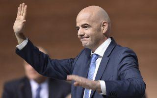 O Tζάνι Ινφαντίνο, μέχρι χθες γενικός γραμματέας της UEFA, έλαβε 115 ψήφους στον δεύτερο γύρο των εκλογών της FIFA.