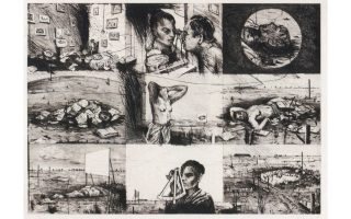 Ο «Φέλιξ στην εξορία» είναι ο τίτλος της σύνθεσης αυτής του Γουίλιαμ Κέντριτζ (1994).