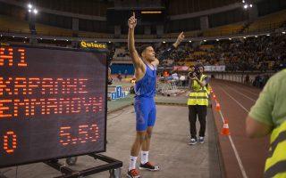 Ο 16χρονος επικοντιστής Μανώλης Καραλής πέτυχε την κορυφαία επίδοση όλων των εποχών στον κόσμο, στους παίδες (5,53).