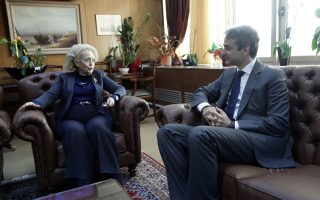 Ο Πρόεδρος της ΝΔ έθεσε στην Εισαγγελέα του Αρείου Πάγου και το θέμα της αποφυλάκισης του Γιώργου Ρουπακιά.