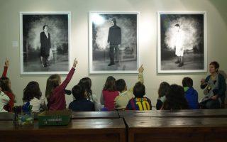 Μια από τις νυχτερινές επισκέψεις των παιδιών στο Τελλόγλειο. Τώρα η δράση Sleepover δοκιμάζεται και στο ενήλικο κοινό.