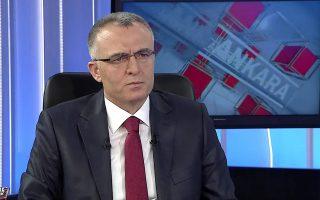 Σε συνέντευξή του ο Νατσί Αγκμπάλ μιλά ανοικτά για τα σύννεφα πάνω από την τουρκική οικονομία των 720 δισ. δολ.