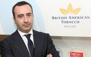 «Είναι σε εξέλιξη ένα ευρύ πλάνο επιχειρηματικών πρωτοβουλιών, προϊοντικών καινοτομιών και επενδύσεων για την ελληνική αγορά αξίας 100 εκατ. ευρώ για τα επόμενα τρία χρόνια», λέει ο Ιταλός πρόεδρος της BAT Hellas, Τζιανπιέρο Πατσανέζε.
