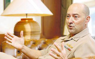 Ο πρώην ανώτατος στρατιωτικός διοικητής της Ατλαντικής Συμμαχίας, ναύαρχος Τζέιμς Σταυρίδης.