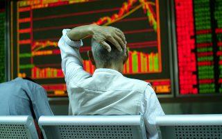 Στο Χρηματιστήριο της Σαγκάης, χθες, ο δείκτης παρουσίασε κάμψη 1,8%, κλείνοντας στις 2.688,85 μονάδες. Συνολικά τον Ιανουάριο είχε απώλειες της τάξεως του 24%.