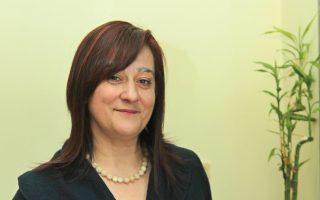 Η Τάνια Βαλαμώτη, αναπλ. καθηγήτρια του Τμήματος Ιστορίας και Αρχαιολογίας του ΑΠΘ.