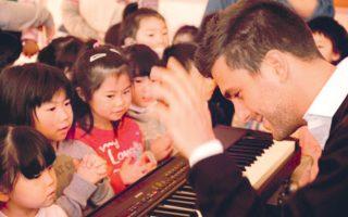 Pεσιτάλ για τα μικρά παιδιά, το μέλλον της Iαπωνίας, έδωσε ο πιανίστας Panos Karan.
