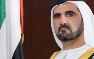 Ο σεΐχης του Ντουμπάι, Μοχάμεντ μπιν Ρασίντ αλ Μαχτούν,