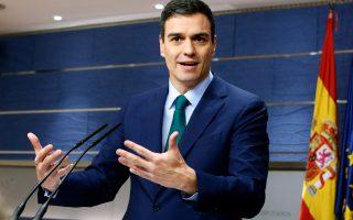 Ο γενικός γραμματέας των Ισπανών Σοσιαλιστών Πέδρο Σάντσες θα συνεχίσει τις προσπάθειες σχηματισμού κυβέρνησης τις επόμενες δύο εβδομάδες, προκειμένου να τερματίσει τη θεσμική παράλυση της χώρας.