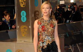 Celebrities attending The 2016 BAFTA Awards at Covent Garden on February 14, 2016 in London, England.<P>Pictured: Cate Blanchett <B>Ref: SPL1227891  140216  </B><BR />Picture by: Splash News<BR /></P><P><B>Splash News and Pictures</B><BR />Los Angeles:310-821-2666<BR />New York:212-619-2666<BR />London:870-934-2666<BR />photodesk@splashnews.com<BR /></P>