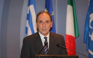 Ο υπουργός Οικονομίας Γ. Σταθάκης θα μεταβεί στις Βρυξέλλες για να λάβει μέρος στο Συμβούλιο Υπουργών Ανταγωνιστικότητας.
