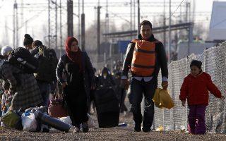 Ανησυχία στην ΠΓΔΜ που καλείται να διαχειριστεί καθημερινά κατά μέσο όρο πάνω από 2.500 πρόσφυγες.