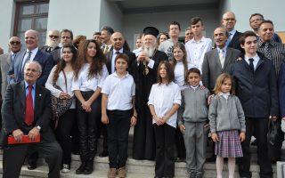 Η 12η Οκτωβρίου, ημέρα αγιασμού του Γυμνασίου - Λυκείου από τον ίδιο τον Πατριάρχη, θα χαραχθεί ως ημερομηνία-ορόσημο στη σύγχρονη Ιστορία του νησιού.