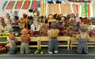 Εργα μικρών και μεγάλων από τα 35 χρόνια του Εργαστηρίου Τέχνης Χαλκίδας στην γκαλερί του «Φουγάρου» στο Ναύπλιο.