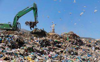 Ο ΧΥΤΑ Φυλής δέχεται σήμερα 5.500 τόνους απορριμμάτων ημερησίως.