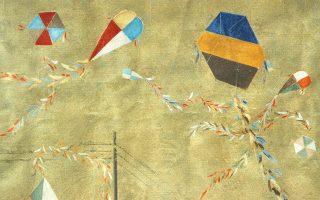 Χαρταετοί του Σπύρου Βασιλείου, έργο 1965. Στον κόσμο του Σπύρου Βασιλείου, τον βουτηγμένο στο χρυσό του αττικού ήλιου, ανήμερα Καθαρής Δευτέρας οι Χαρταετοί του έχουν γιορτή, αφέντες του ουρανού, με χρώματα της παλέτας του, δίπλα δίπλα ο αθηναϊκός χαρταετός με το Σμαρνάκι της Μικράς Ασίας. Παρών και ο χαρταετός «που δεν πρόσεξε και μπλέχθηκε στα καλώδια της ΔΕΗ».