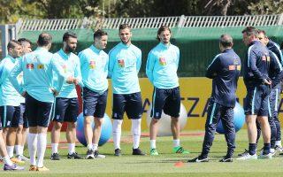 Ο Μίκαελ Σκίμπε ζήτησε από τους ποδοσφαιριστές του να μπουν δυναμικά και επιθετικά στη νέα εποχή της Εθνικής.