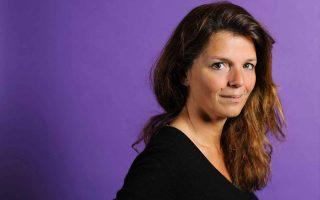 Η συγγραφέας Maylis de Kerangal, υποψήφια για το Man Booker International.