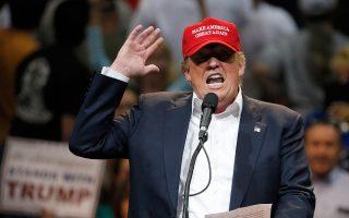 Τις απόψεις του περί εξωτερικής πολιτικής ξεδίπλωσε σε συνεντεύξεις του ο εκκεντρικός διεκδικητής του προεδρικού χρίσματος του Ρεπουμπλικανικού Κόμματος Ντόναλντ Τραμπ.