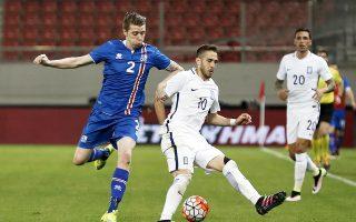 Ο Φορτούνης πέτυχε τα δύο γκολ της Εθνικής και ήταν από τους διακριθέντες παίκτες του χθεσινοβραδινού παιχνιδιού με την Ισλανδία.