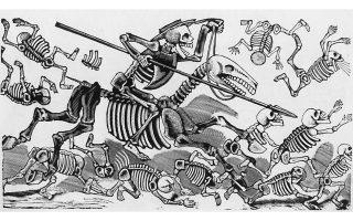 Δον Κιχώτης. Η σειρά Calaveras, με τα κρανία και τους σκελετούς, καθιέρωσε τον Ποσάδα σε ολόκληρο τον κόσμο.