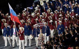 To 2012 η Μαρία Σαράποβα ήταν η σημαιοφόρος της ρωσικής αποστολής στους Ολυμπιακούς Αγώνες του Λονδίνου. Τέσσερα χρόνια μετά, τόσο η ίδια όσο και η χώρα της, βρίσκονται σε εξαιρετικά δυσμενή θέση.