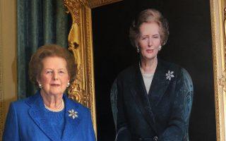 Το 1985 με αφορμή την τραγωδία του Heysel, η Thatcher (φωτ.) αντιμετώπισε με επιτυχία τους hooligans των γηπέδων της Αγγλίας.
