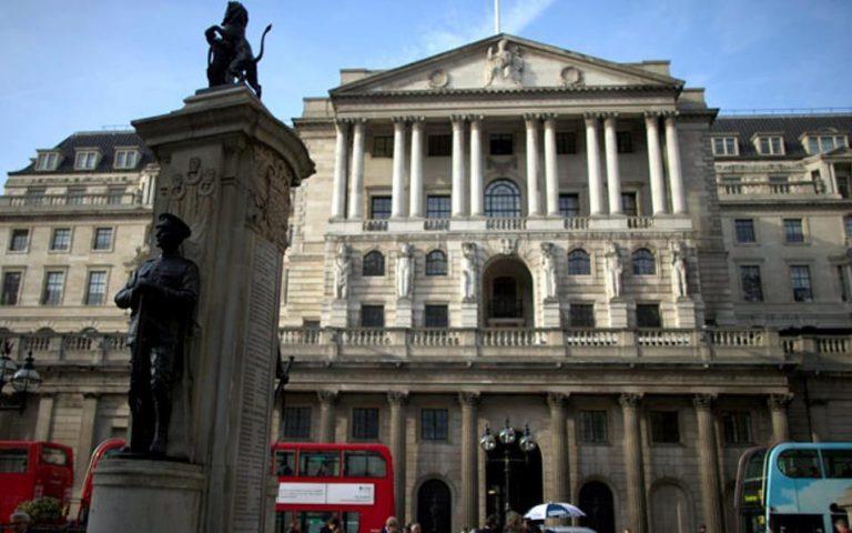 «Καμπανάκι» από Τράπεζα Αγγλίας για τους κινδύνους του Brexit