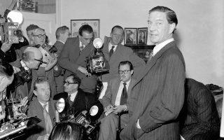 Μία άγνωστη έως σήμερα μαγνητοσκοπημένη ομιλία του Κιμ Φίλμπι, του εικονιζόμενου Βρετανού κατασκόπου, προς τα μέλη της Στάζι, της υπηρεσίας πληροφοριών της ανατολικής Γερμανίας, ανακάλυψε το ειδησεογραφικό δίκτυο BBC στα αρχεία της γερμανικής υπηρεσίας.