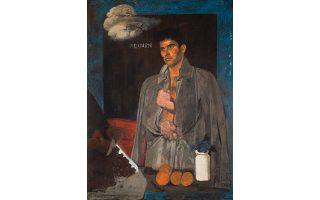 «Xειμών», Γιάννης Tσαρούχης (1910-1989). Λάδι σε καμβά 152x111,5 εκ. Tιμή εκκίνησης 180.000 λίρες, 230.000 ευρώ.