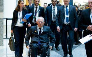 Ο Γερμανός υπουργός Οικονομικών, Β. Σόιμπλε, τόνισε ότι για το Βερολίνο η συμμετοχή του ΔΝΤ είναι απαραίτητη.