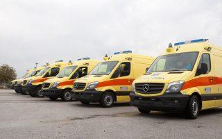 Η προμήθεια ακόμα 96 ασθενοφόρων για την Αττική θα ενταχθεί στο ΕΣΠΑ της περιόδου 2014-2020.