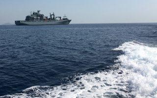 Η ναυτική επιχείρηση του ΝΑΤΟ στο Αιγαίο για την αντιμετώπιση της προσφυγικής κρίσης εξελίσσεται σε διπλωματικό πρόβλημα.