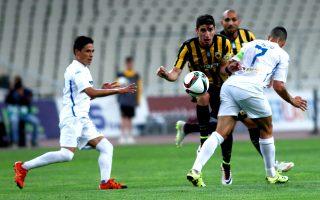 Ο Πέτρος Μάνταλος επέστρεψε στις καλές εμφανίσεις, σκοράροντας και το νικητήριο γκολ για την ΑΕΚ κόντρα στον Ατρόμητο.