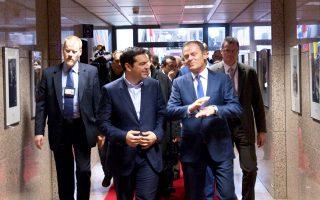 Μετά την αρνητική απάντηση στον Ελληνα πρωθυπουργό Αλ. Τσίπρα για σύγκληση έκτακτης Ευρωσυνόδου, ο πρόεδρος του Ευρωπαϊκού Συμβουλίου Ντόναλντ Τουσκ δήλωσε πως είναι «πεπεισμένος ότι υπάρχει ακόμα πολλή δουλειά να γίνει από τους υπουργούς Οικονομικών».