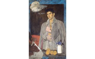 Kορυφαία έργα που κατέκτησαν υψηλές τιμές στην 28η Bonhams Greek Sale του Λονδίνου στις 26 Aπριλίου 2016, ο «Xειμών» του Γιάννη Tσαρούχη... (Λάδι σε καμβά, 152x111,5 εκ.)