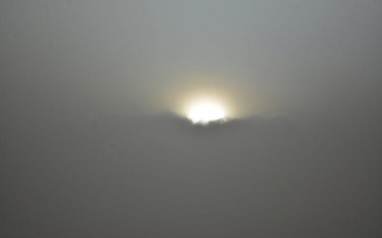 Αποπνικτική ατμόσφαιρα στην Κρήτη λόγω αφρικανικής σκόνης
