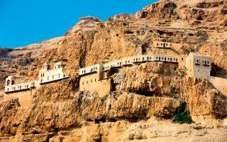 Η Μονή του Προφήτου Ελισαίου, ένα από τα σημαντικότερα θρησκευτικά μνημεία των Αγίων Τόπων. (Φωτογραφία: Shutterstock)