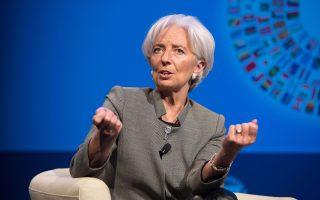 Η Κριστίν Λαγκάρντ, η γενική διευθύντρια του ΔΝΤ, ξεκαθάρισε ότι είναι πιθανή μία ακόμα αναθεώρηση προς τα κάτω, όταν δημοσιοποιηθεί, την επόμενη εβδομάδα, η έκθεση για τις προοπτικές της παγκόσμιας οικονομίας.