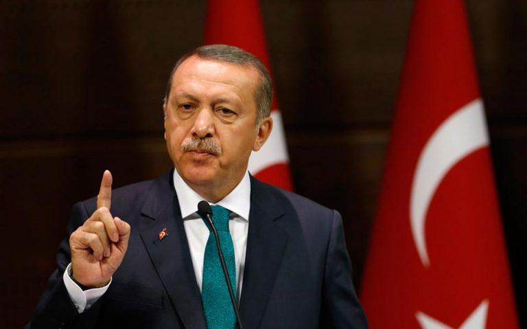 Ερντογάν: Δεν δεχόμαστε μαθήματα Δημοκρατίας από τους δυτικούς