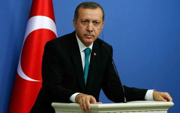 Ερντογάν: «Δεν θα δεχτούμε επαναπροωθήσεις εάν η Ε.Ε. δεν τηρήσει τις δεσμεύσεις της»