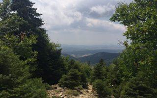 Η Δίρφυς, στην Εύβοια, χαρίζει τοπία σπάνιας ομορφιάς.