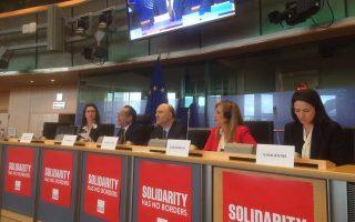 Η κ. Φώφη Γεννηματά, από τις Βρυξέλλες, κατέθεσε δέσμη προτάσε- ων για τις πρωτοβουλίες που πρέπει να αναδειχθούν στο άμεσο μέλλον σχετικά με το προσφυγικό.