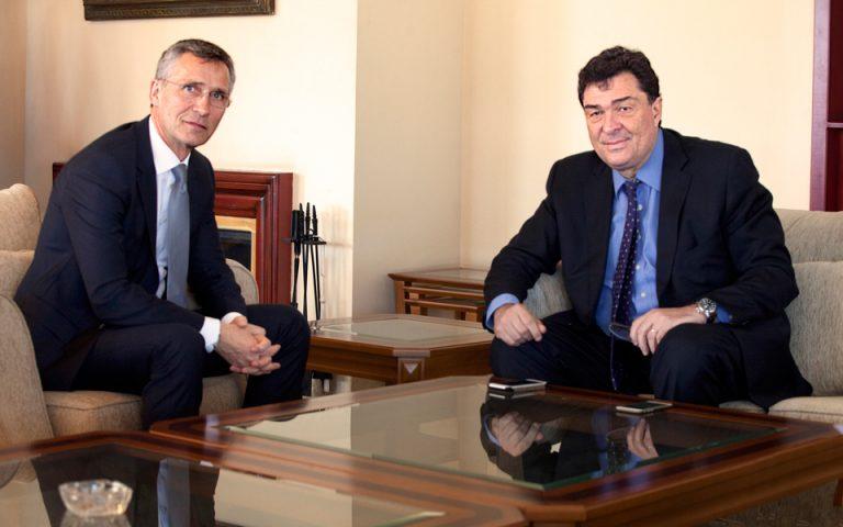 Γενς Στόλτενμπεργκ: «Πλατφόρμα συνεργασίας μεταξύ Αθήνας – Αγκυρας»