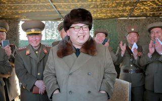 Η πολεμοχαρής ρητορική του Βορειοκορεάτη ηγέτη, Κιμ Γιονγκ Ουν, προβληματίζει έντονα τη Δύση.