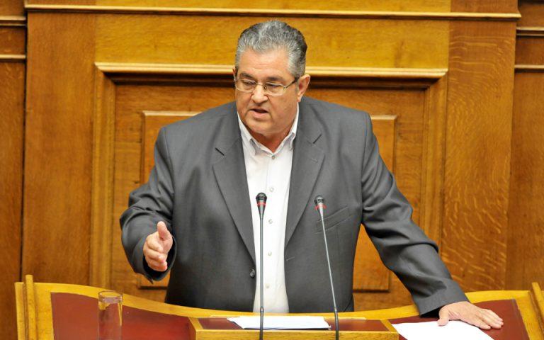 Περισσός: Η κυβέρνηση επιχειρεί εκβιασμό του λαού