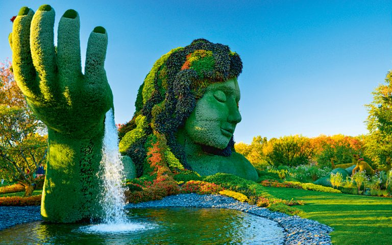 Ο Βοτανικός Κήπος του Μόντρεαλ, που άνοιξε το 1931, είναι ένας από τους σημαντικότερους στον κόσμο στο είδος του. (Φωτογραφία: Shutterstock)