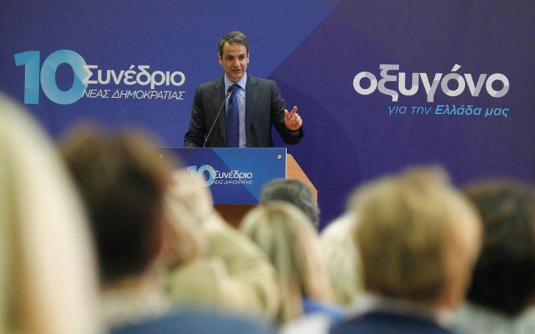Κυρ. Μητσοτάκης: «Τέλος στην παρακμή, την ασφυξία και τον διασυρμό της χώρας»